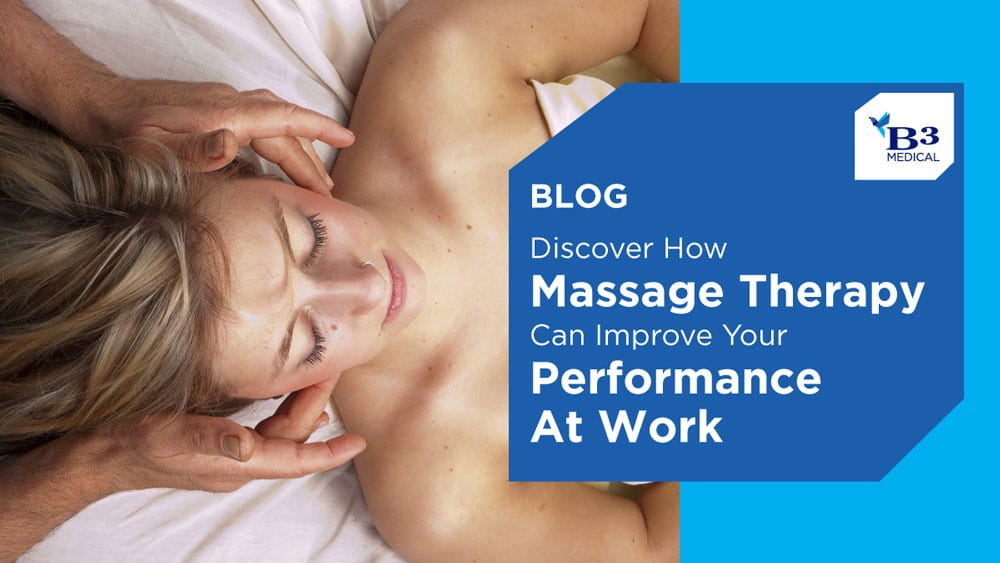 How Massage Can Improve Your Performance at Work